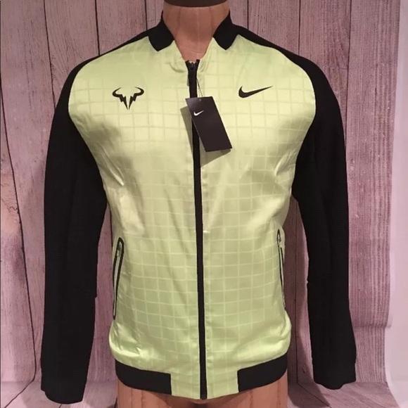 145a676ea09b Nike NikeCourt Rafael Nadal Men s Tennis Jacket M